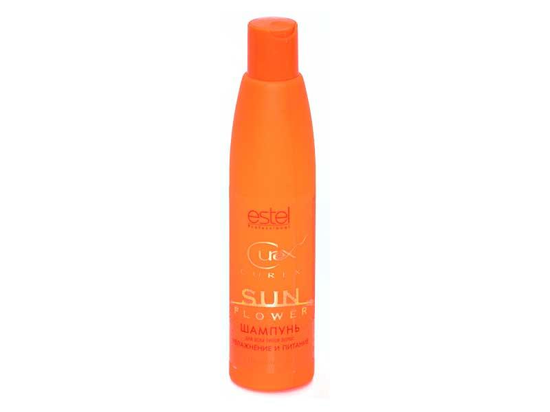 Шампунь для волос estel curex sunflower cus/s13 250 мл.